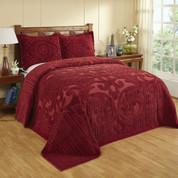 Ashton Bedspread King - Burgundy