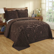Ashton Bedspread Full - Chocolate