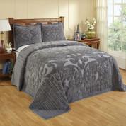 Ashton Bedspread Full - Grey