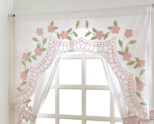 Bloomfield Shaped Valance - Pink