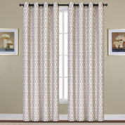 Oakland Grommet Top Curtain - Mocha