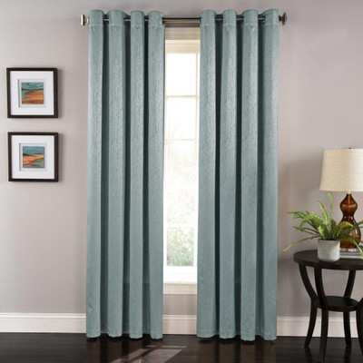 Aurora Grommet Top Curtain Panel - Blue