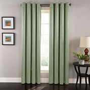 Aurora Grommet Top Curtain Panel - Sage
