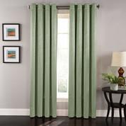 Aurora Grommet Top Curtain Panel - Sage