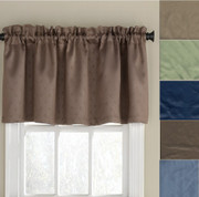 Twilight room darkening valance