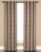 Halo Grommet Top Curtain Panel - Cobblestone from Saturday Knight on Linens4Less.com