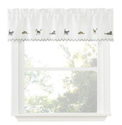Cats kitchen curtain valance
