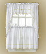 Daisy Mae Kitchen Curtain from Lorraine Home Fashions
