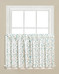 "Gentle Wind kitchen curtain 24"" tier from Saturday Knight"