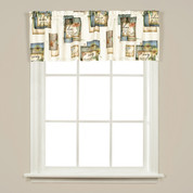 Nature's Hope kitchen curtain valance