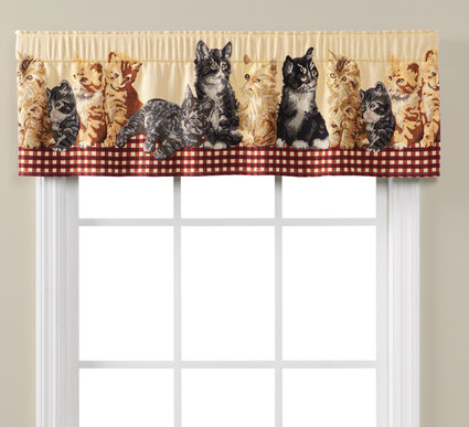 Feline Friends Valance