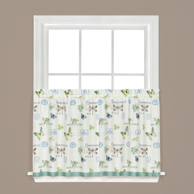 "Garden Discovery 36"" kitchen curtain"