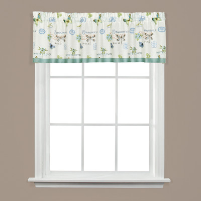 Garden Discovery kitchen curtain valance
