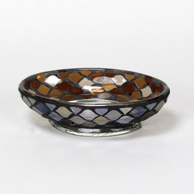 Morocco Glass Soap Dish