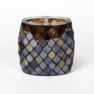 Morocco Glass Toothbrush Holder