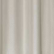 Grace Extra Long Jacquard Shower Curtain - Silver