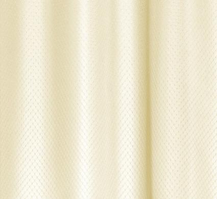 Grace Extra Long Jacquard Shower Curtain - Ivory