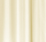 Grace Extra Long Jacquard Shower Curtain - Ivory