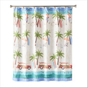 Paradise Beach Shower Curtain from Saturday Knight