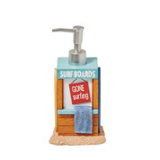 Paradise Beach Lotion Dispenser from Saturday Knight