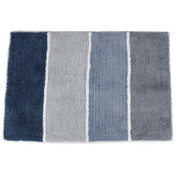 Cubes Striped Bath Rug from Saturday Knight