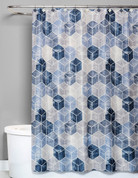 Cubes Shower Curtain from Saturday Knight