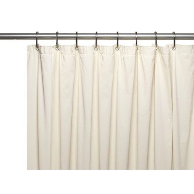 Clean Home PEVA Shower Curtain - Bone (SCEVA -10/15)