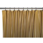 Clean Home PEVA Shower Curtain - Gold (SCEVA -10/02)