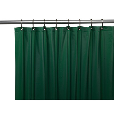 Clean Home PEVA Shower Curtain - Hunter Green (SCEVA -10/27