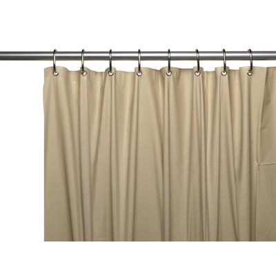 Clean Home PEVA Shower Curtain - Linen (SCEVA -10/44)