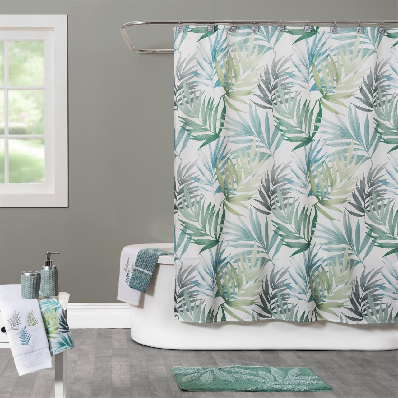Maui Shower Curtain Bathroom Accessories Linens4lesscom