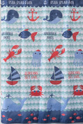 Set Sail shower curtain from SaturdAY kNIGHT