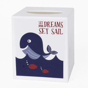 Set Sail Tissue Box Cover from Saturday Knight