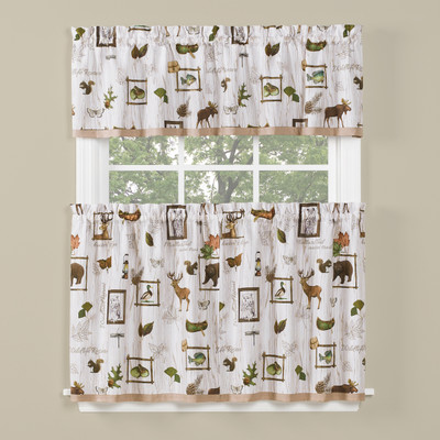 Forest Glen Kitchen Curtain from Saturday Knight