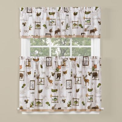 Forest Glen Kitchen Curtain from Saturday Knight