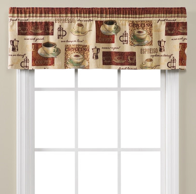 Coffee Talk Valance
