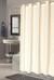 Bulk Case Pack (24 pcs) Hookless Fabric Shower Curtain Checks - Stall size Ivory