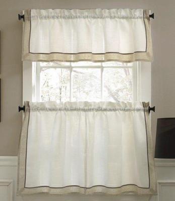 Stratford Kitchen Curtain - Natural from Lorraine