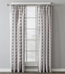Parkland Rod Pocket Curtain Panel - Dove Gray from Saturday Knight