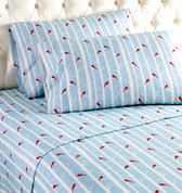 Micro Flannel Sheet Set - Cardinals from Shavel