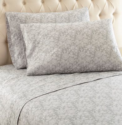 Micro Flannel Sheet Set - Enchantment Grey