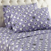 Shavel Micro Flannel Sheet Set - Sheep Lavender