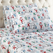Shavel Micro Flannel Sheet Set - Polar Bears