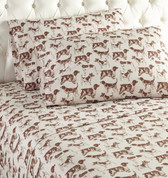 Shavel Micro Flannel Sheet Set - Hunting Dogs