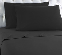 Micro Flannel Sheet Set - Charcoal from Shavel