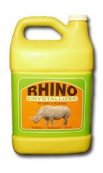 Rhino White Crystallizer Marble Polish Tri Point