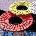 "SUPER-DIASHINE 4"" Diamond Discs- 7 GRIT SET LOOP"