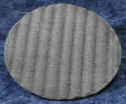 "Steel Wool 17"" Floor Pads - #0 Grade"