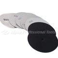 "Alpha 4"" Sandpaper Discs 80 Grit - Hook & Loop"