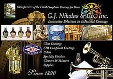 Nikolas 11565 Outdoor Brass Lacquer RFU